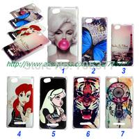 Painting Dream tiger eiffel Tattoo Ariel Little Mermaid Monroe hard cover case For Sony Xperia M C1905 C1904 C2004 C2005