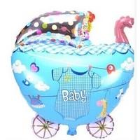 Selling children's birthday balloon toy balloons, aluminum balloons wholesale new stroller