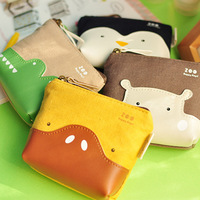 Kawaii cartoon animal design series coin bag , coin purses , coin wallet, stationery wholesale(tt-494)