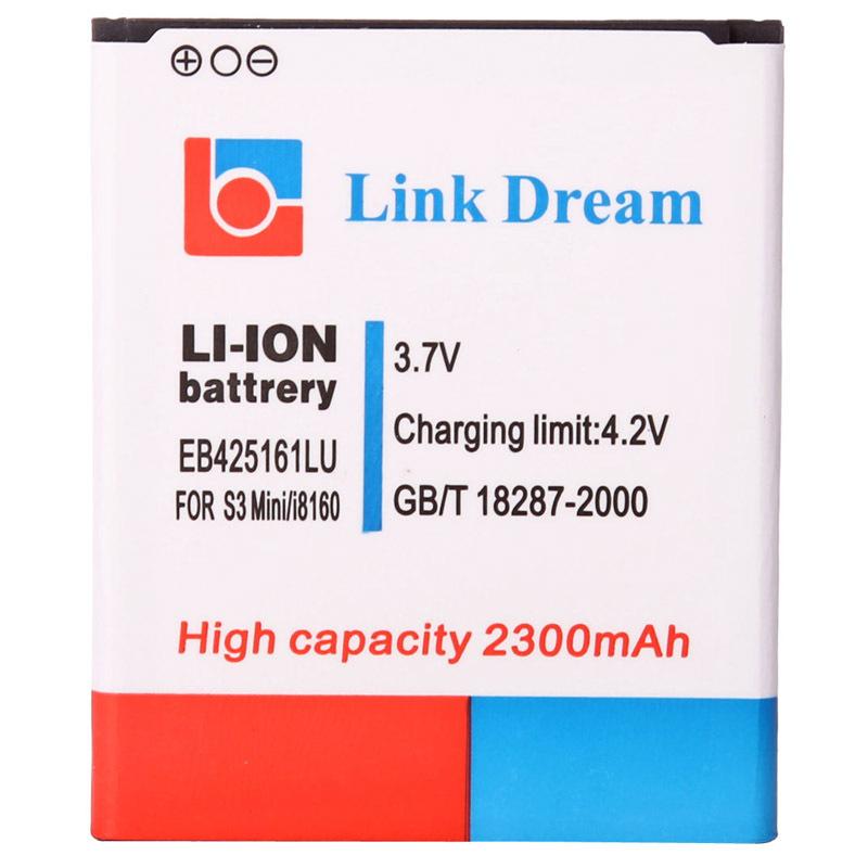 Link Dream High Quality 2300mAh Replacement Battery for Samsung Galaxy SIII Mini / i8190, i8160 (EB425161LU)