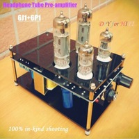 RHYME 6J1+6P1 finished Headphone pre-amp HIFI stereo tube amplifier PRO version DIY