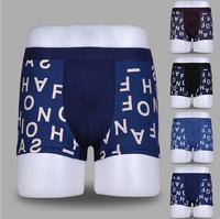 Super popular , 2014    Printed letters men's pants are U convex bamboo fiber