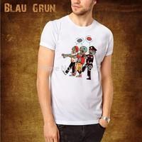 2014 Hot Wholesale brand Men T-Shirts,man tshirts, fashion O-neck t shirt S-XL size  blau tee , gruntee ,corpse parade   style