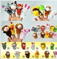 2014 new brand 1set=12pcs finger puppet 12pcs zodiac different animals puppet