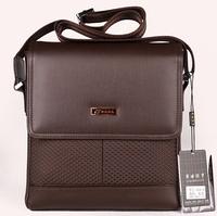 2014 New hot sale Leather Men Business Bag Men Messenger Bag Small Business Crossbody Shoulder Bags free shipping