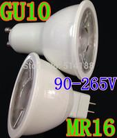 X10 Free shipping High power GU10 6W 9W 110V 120V 220V 240V Dimmable+Non- Dimmable Light white case LED Downlight Led Bulb