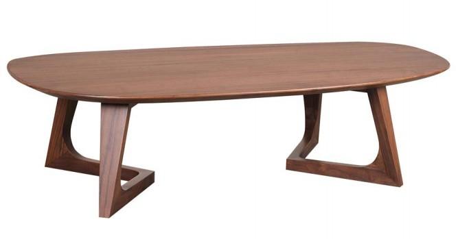 Walnut wood furniture, coffee table edge matching side table tea table a few simple minimalist contemporary American designer li(China (Mainland))