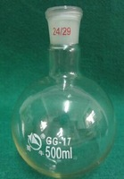 500ml,24/29,1-neck,Round Bottom Flask,Single Neck,Lab Glass Boiling Vessel