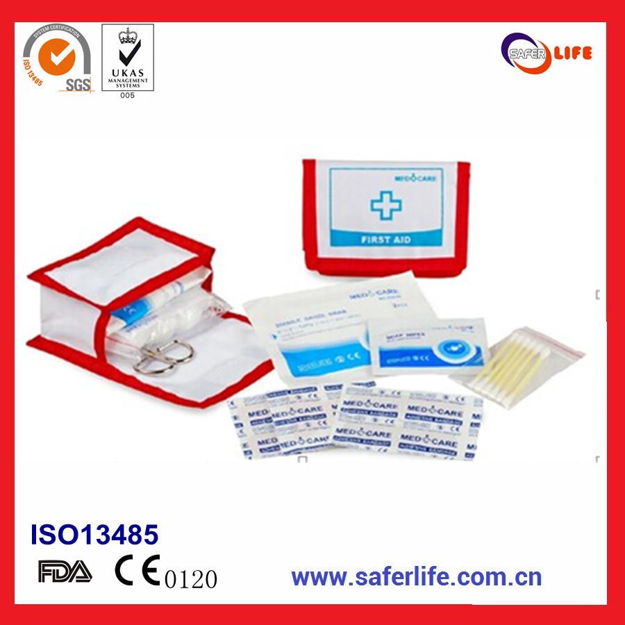 SL-031 Custom Mini Car/Travel/Home First Aid Kits Emergency Kit CE manufacturer(China (Mainland))