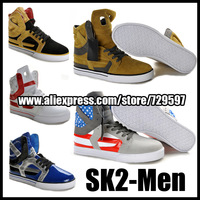 SK TWO Justin Bieber hihg top Shoes for men New 2014 Casual leisure shoes for boy hiphop men's fashion sneakers (Size 40-47)