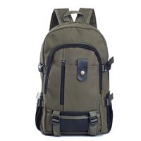 Cotton Canvas Backpack Laptop Canvas School Bag Shoulder Canvas Backpack Military Vintage Canvas Backpack Rucksack Free Shipping