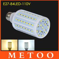 Long Life lamps E27 SMD 5630 5730 110V 127V 130V LED corn bulb 25W 360 degree light Home use 1pcs/lot Dropshipping