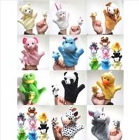 2014 brand new animal Hand puppet 10pcs /set
