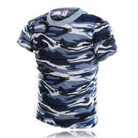 Marine camouflage set ver5 Camouflage short-sleeve o-neck t-shirt