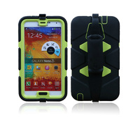 New Water Dirt Shock Proof  Silicon Case for Samsung Galaxy Note 3 N9000 Protective Cover Case Free Shipping
