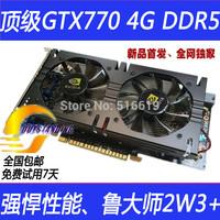 GTX770 4GB Graphics card 4GB 128bit GDDR5   DVI miniHDMI   Game card Video card