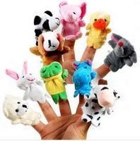 50pcs 2014 brand new animal finger puppet size 7cm*3cm
