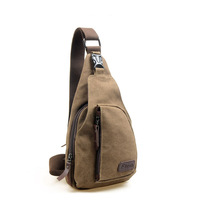 Retro Canvas Military Messenger Shoulder Travel Hiking Fanny Bag Backpack canvas chest casual messenger sling military bags