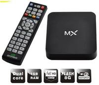 Original MX TV BOX XBMC preinstalled Android 4.4.2 TV set top Google Amlogic 8726 Cortex A9 Dual core 1.5GHz 1GB/ 8GB Player