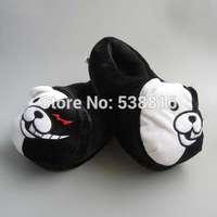 Cartoon Dangan Ronpa Bear Adults Anime Indoor Slippers Novelty Shoes in Winter 28cm 11''