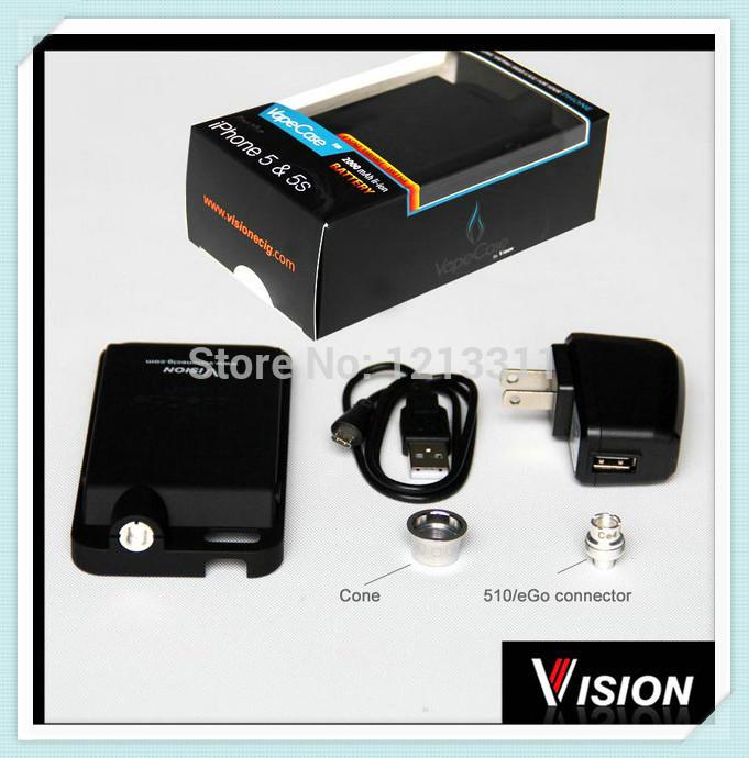 видение электронной vaping mod / vapecase для iphone 5 5s батарея питания электронная сигарета аккумулятор для электронных сигарет