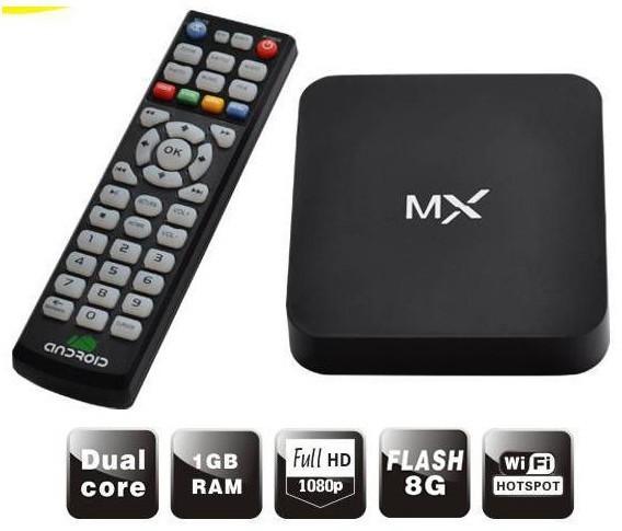 Original MX XBMC Midnight Android 4.2 Dual Core TV Box 1G RAM 8G ROM WiFi Sports Adults WIFI Video Games Google TV Box HDMI(China (Mainland))