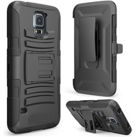 Hot sales!! for Samsung Galaxy S5 I9600 Case -Prime Series Dual Layer Holster Case with Kickstand, 10pcs/lot Free Shipping
