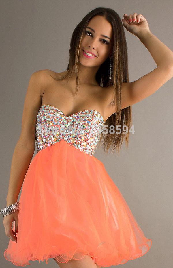 Short Orange Prom Dresses 2014 - 2018 images & pictures - 15 best ...