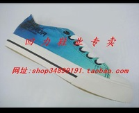 Warrior shoes lovers design gradient color Ventile male Women wxy-62 canvas shoes