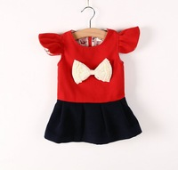 Free shipping In the fall of 2014 new Korean girls large butterfly flying dress children's clothing wholesale trade