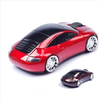 2.4G Mini Car Wireless Mouse 10m Optical Mouse Wirless Car/Auto Ray Mice 1600DPI For PC Laptop Notebook MAC WIN7 XP With USB