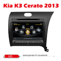 Car DVD for KIA K3 Cerato 2013 right drive wifi 3G Host S100 Support DVR 8inch HD screen audio video player Free shipping