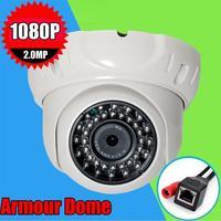 CCTV H.264 2.0MP 1080P HD Armour Dome Security camera 3.6mm CCTV IP Surveillance Camera IP Camera Onvif