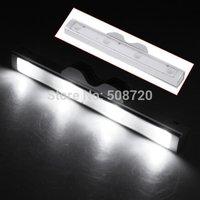 Shaking 4 LED Sensor White Light Motion Detector Drawer Silver Saving Energy Light Lamp
