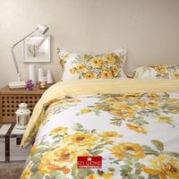 Nordic fashion princess style garden floral bedding cotton