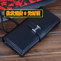 Women Wallet Card Package 13 women's wallet long design drawstring h hand-clasping wallet multi card holder card holder