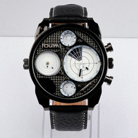 hot sale new design men's watch,precise Japan imported quartz movement,with high quality PU leather band,freeshipping 100pcs/lot