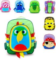 Children's Backpack Cute cartoon animal canvas backpack zoo backpack Mini School Bags Kids Backpacks Lunch Backpack mochila