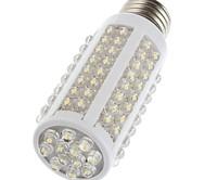 free shipping 5 PCS E27 220V Warm White 7W Ultra bright 108 LED Corn Light Bulb Lamp 360 degree Worldwide