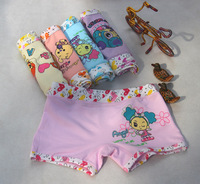 2014 new 100% cotton kids underwear for girl & boy briefs for children 3 size 6 colors+ free shipping