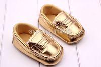 Hot Golden Baby Doug shoes unisex Anti-slip Soft Sole First Walkers  Learning shoes Children/kids prewalker