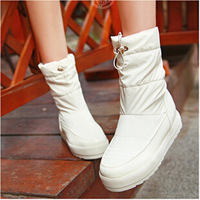 2014 new winter shoes Korean fashion flat boots ankle boots women's boots  3851