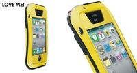 Gorilla Glass Aluminum Metal Cover Case for iPhone 5S 5G Waterproof Shockproof