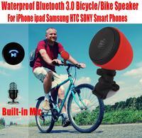 Newest HOLAAM Waterproof Sport Bicycle/Bike Speaker MP3 Player Bluetooth 3.0 Speakers with Bike Holder NO: B001