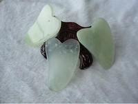 7*4cm guasha tools jade for face jade guasha board massage tool Scrape therapy treatment Chinese graston tools for sale