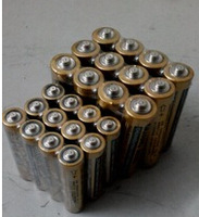 Free shipping 12pcs AA and 12pcs AAA best quality battery heavy duty R6P AA and R03P AAA