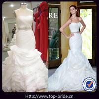 Sexy Mermaid Designer Bridal Gown TBV1365