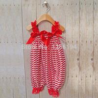 2014 Newborn Baby Girls Bubble Rompers Fashion Chevron Strap Satin Bubble Rompers Kids Girl Free Shipping