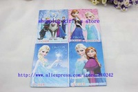 FROZEN stickers/wholesale 100PCS crayon painting notebook Drawing the book stationery/Cute Drawing Book/sticker coloring book