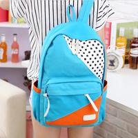 2014 Brand Bag Canvas Laptop Bags Kids School Bag Travel Bag  Mochila Tactical Men's Backpack Satchel Candy Free Shipping